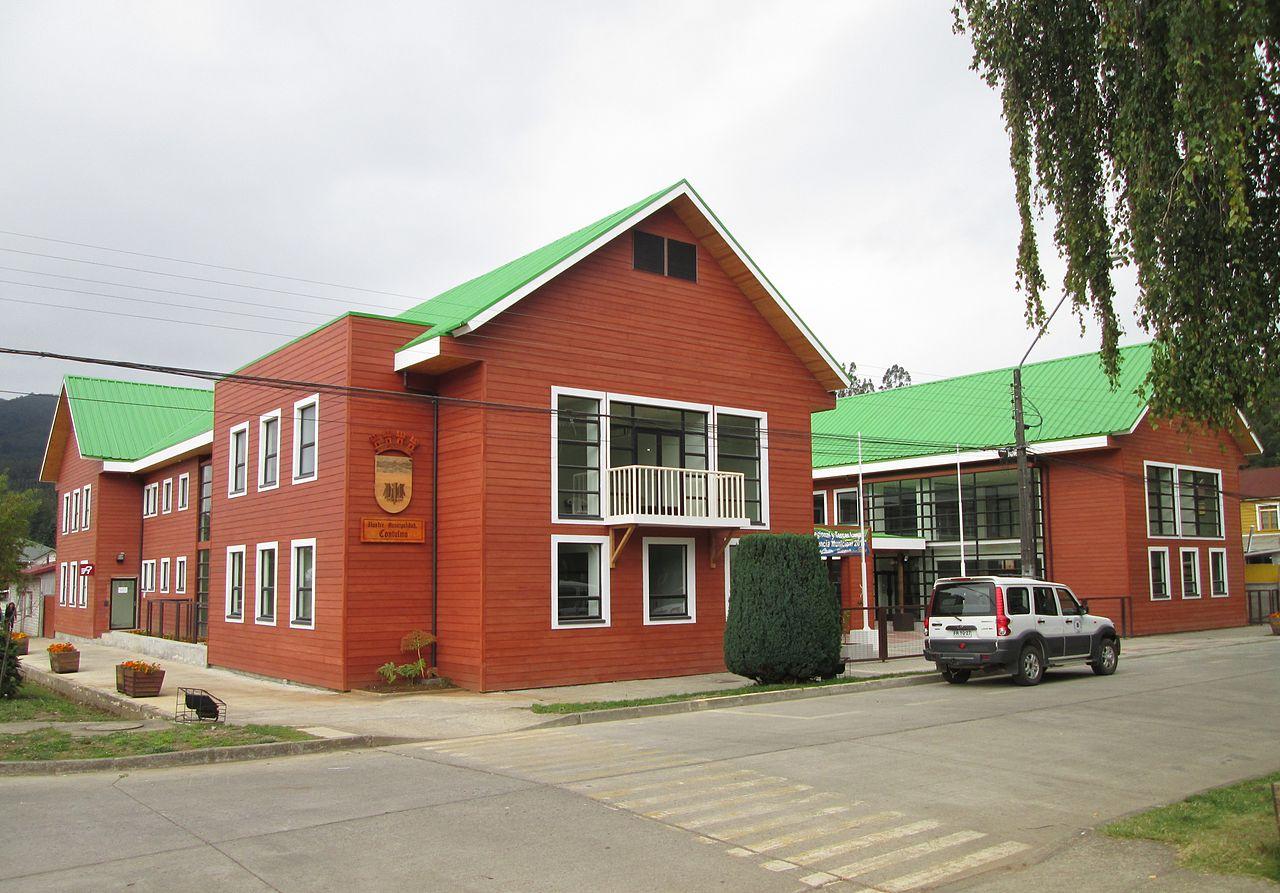 Edificio Municipalidad de Contulmo